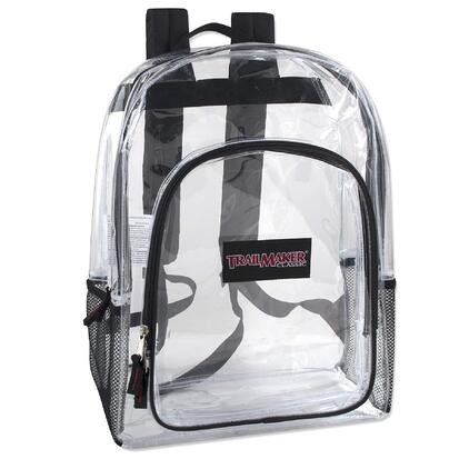 Deluxe Clear Backpacks