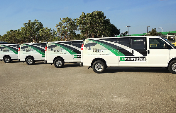 Fleet wraps for your company