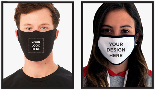 Two Options of Customizable Face Masks